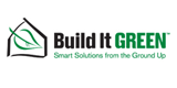 logo Build it green eco friendly design association